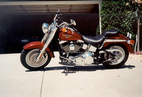 Ted Cahall Harley Davidson Fat Boy 2000 Fatboy Mods Pictures
