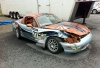 Ted Cahall's Totaled SM Miata at MARRS 7, 2011