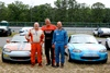 Ted Cahall, Mike Collins, Neil ORourke at NJMP Nationals 2011
