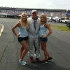 Ted Cahall at Charlotte Motor Speedway