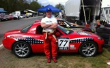 Ted Cahall with his SM5 class MX-5 at Summit Point